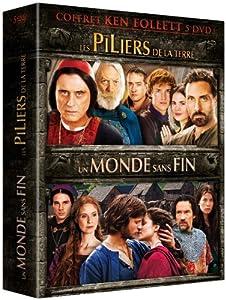 """Afficher """"Ken Follett : Les piliers de la terre + Un monde sans fin"""""""