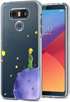 YOEDGE Funda LG G6 Ultra Slim Cárcasa Silicona Transparente con ...