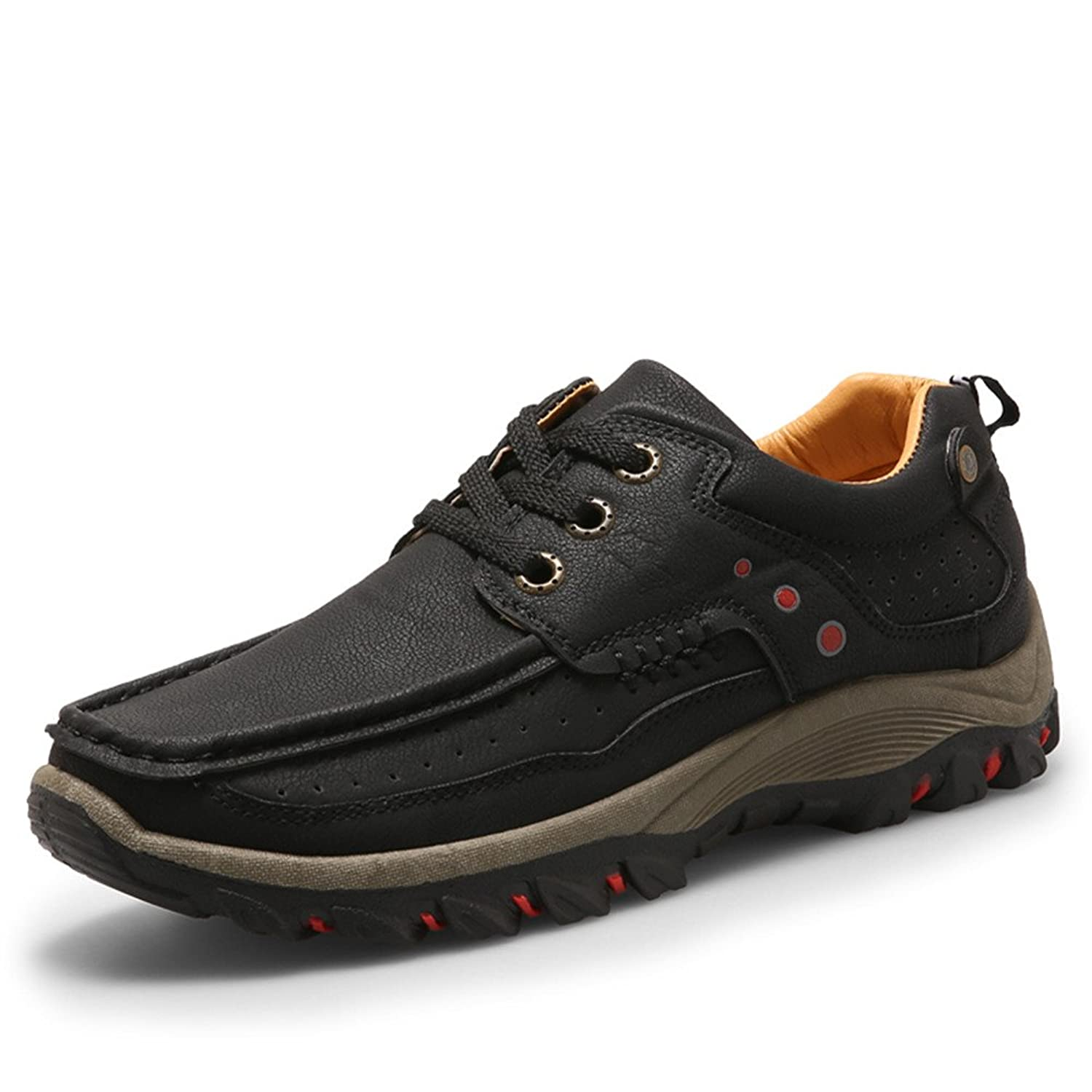 2016 autumn and winter leisure outdoor Shoes Mens Size anti-skid hiking shoes