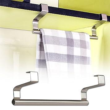 dfly 1pieza puerta trasera estilo gamuza de mandíbulas de almacenamiento accesorio de gancho para puerta de armario para colgar toallas para cocina baño ...