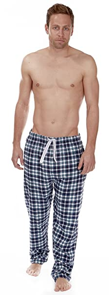 a4248e0a61 Cargo Bay Mens PJ Pyjama Bottoms Check Print - Elasticated Waistband  Amazon .co.uk  Clothing