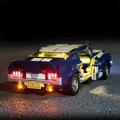 FenglinTech LED Light Kit for Lego 10265 Creator Ford Mustang Building Blocks Model (Lego Set Not Included, 3rd Party Lego Accessory): Toys & Games