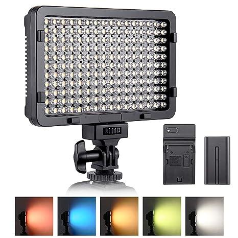 Iluminación de vídeo, esddi 176 LED Ultra brillante Regulable ...