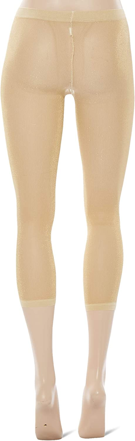 Country Kids Girls Sparkly Footless Tights