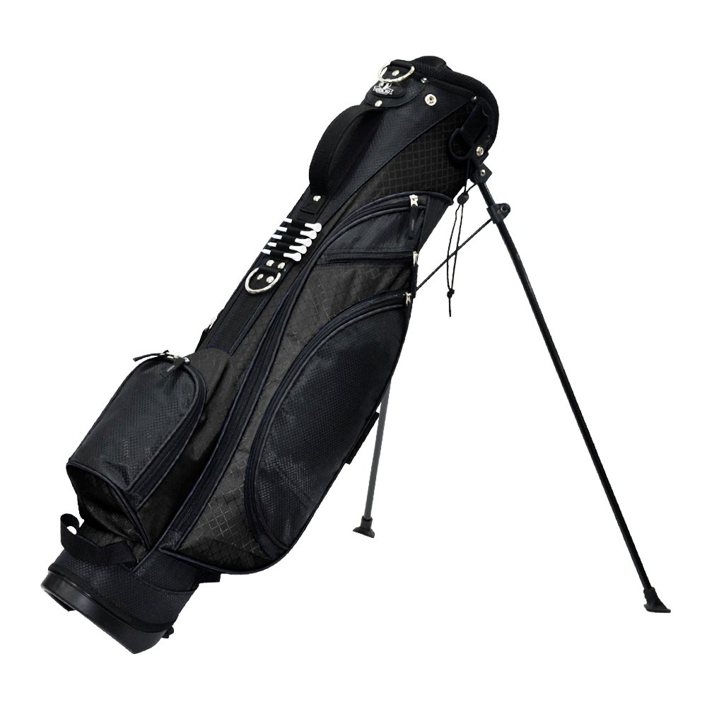 RJ Sports Typhoon Mini Stand Bag, 6 , Black Black