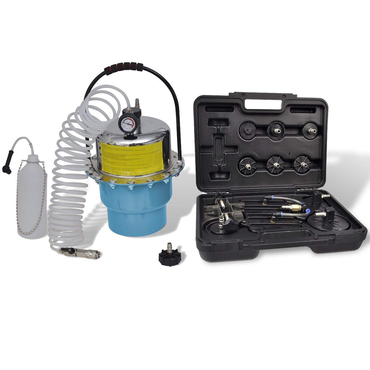 DA YUAN Portable Pneumatic Air Pressure Kit Brake and Clutch Bleeder Valve System Kit
