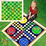 Giant Snakes and Ladders or Ludo Play...