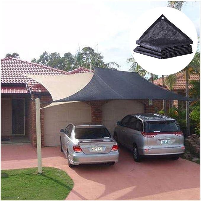 Sombrilla al Aire Libre Red de Sombra Planta de Protección Solar ...