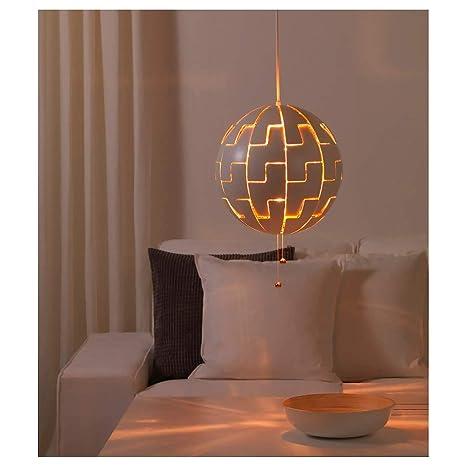 Amazon.com: IKEA lámpara de techo, color blanco, Cobre Color ...