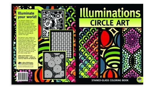 Circle Art Illuminations Coloring Book