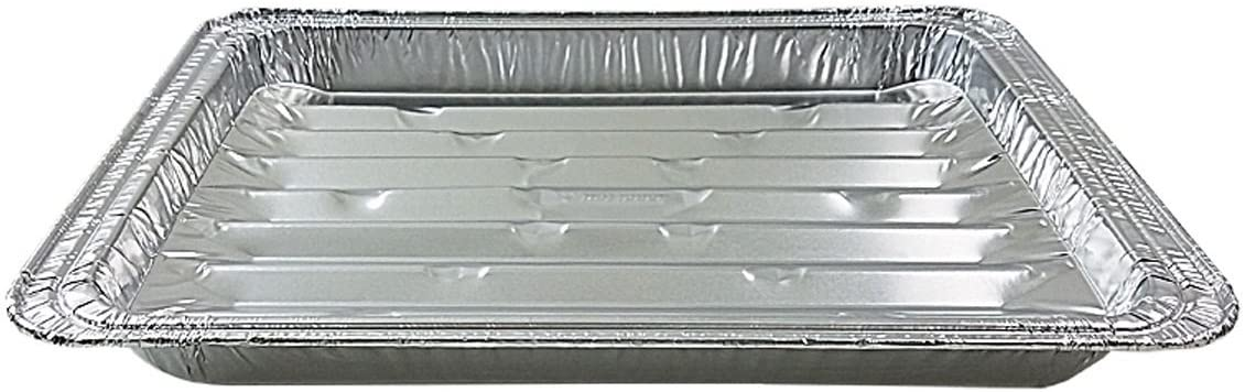 Handi-Foil Disposable Aluminum Foil Broiler Baking Cooking Pan - HFA REF # 333 (10)
