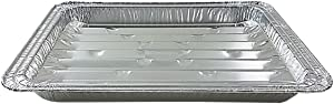 Handi-Foil Disposable Aluminum Foil Broiler Baking Cooking Pan - HFA REF # 333 (10)
