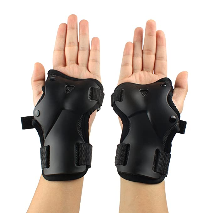 Andux Ski Gloves Extended Wrist Palms Protection Roller