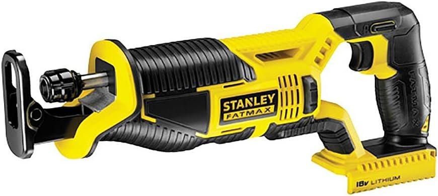 STANLEY FATMAX FMC675B-XJ - Sierra de sable 18V, longitud carrera 25mm (sin batería/cargador)
