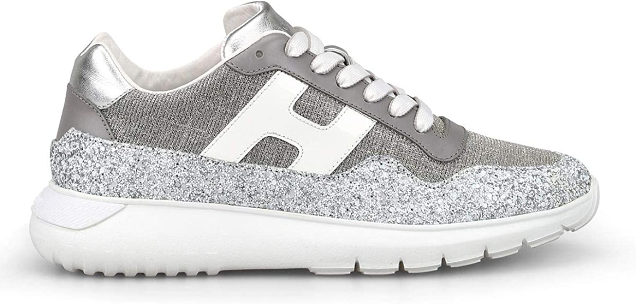 Luxury Fashion | Hogan Mujer HXW3710AP31KKT0QDP Plata Zapatillas | Temporada Outlet: Amazon.es: Zapatos y complementos