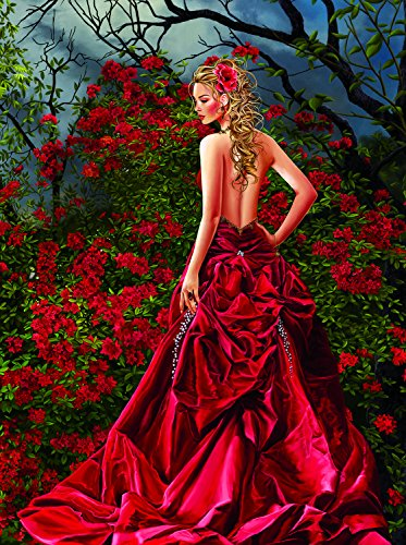 Tais in Red 1000 Piece Jigsaw Puzzle by SunsOut