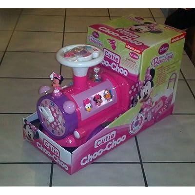 Kiddieland Toys Limited Disney Cutie Choo-Choo Ride On: Toys & Games
