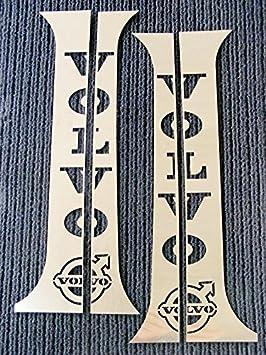 4 piezas Juego de pulido acero inoxidable cromo puerta ...
