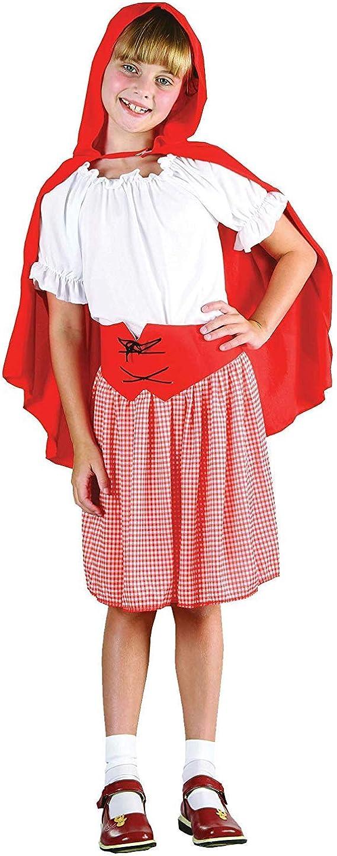 Children - Disfraz de Caperucita Roja infantil, talla 10-12 años ...