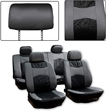2x CAR FRONT SEAT COVERS PROTECTOR For Audi TT S Line