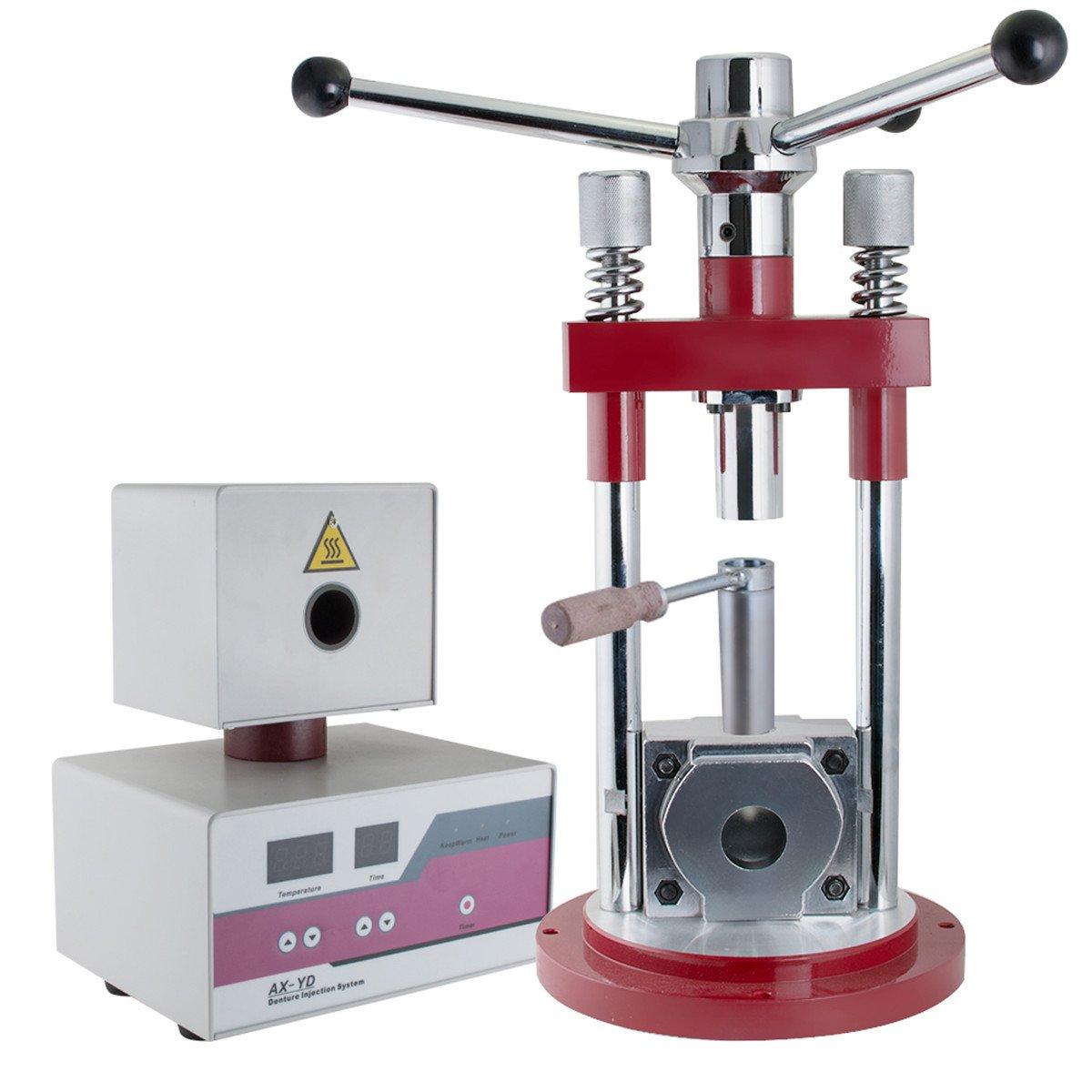 Dental Denture Injection System Flexible Partial Machine Dentistry Lab Equipment 110V