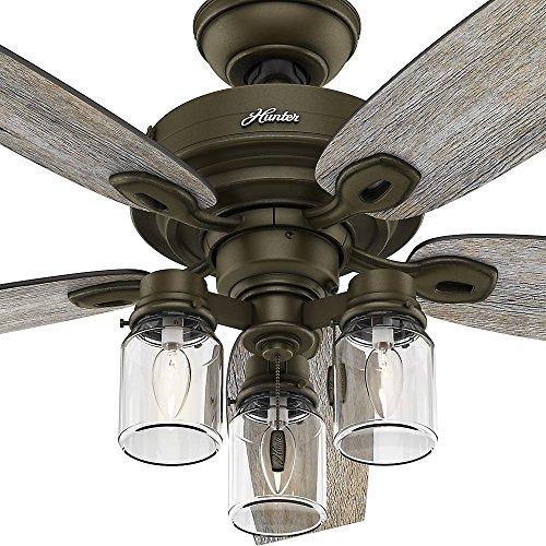 Hunter 53331 crown canyon 52 in indoor regal bronze ceiling fan indoor regal bronze ceiling fan amazon aloadofball Gallery