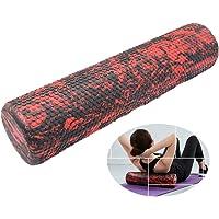 QC Firme Rodillo de espuma muscular texturizado, manipula el tejido profundo de masaje suave columna de alivio de yoga