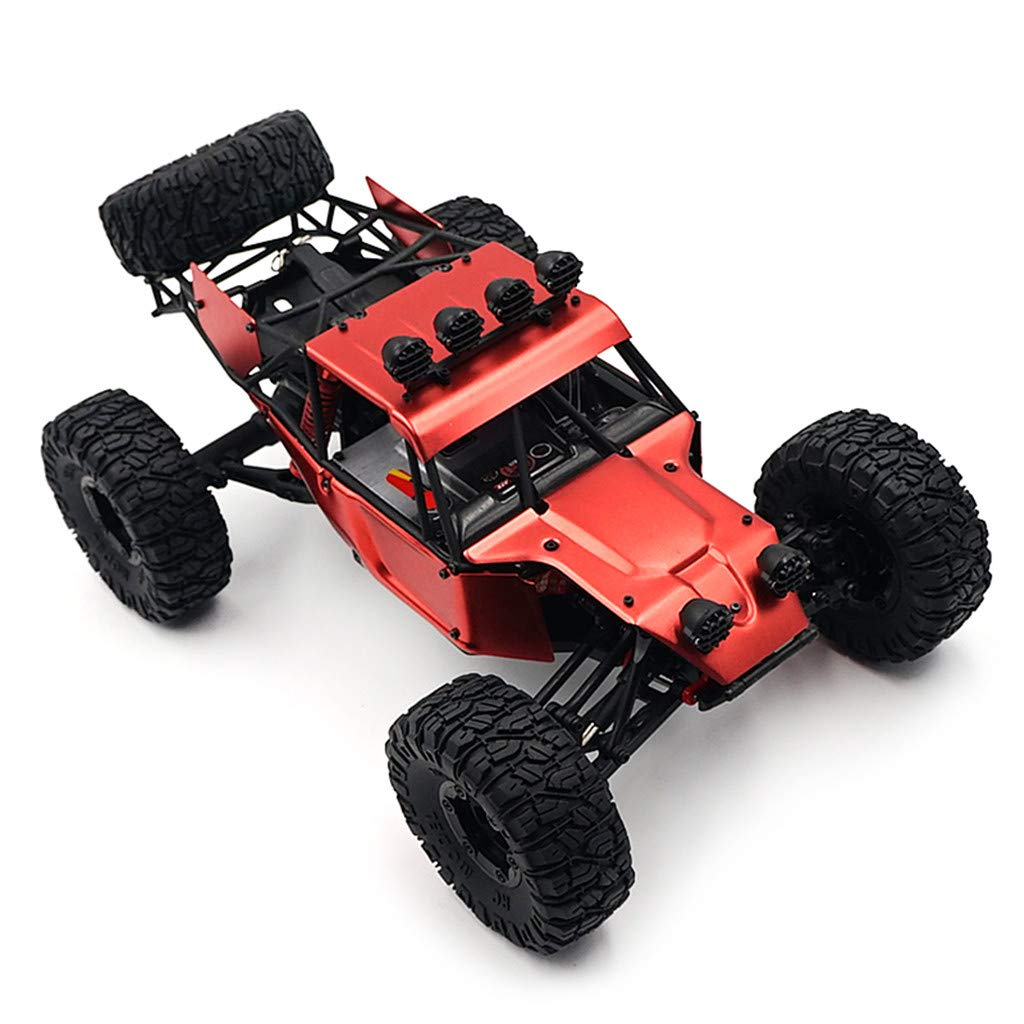 Electric RC Buggy 1/12 Remote Control Car 2.4Ghz 4WD Desert Off-Road Truck 70KM/h High Speed Terrain RC Car Rechargeable Vehicle Rock Crawler for Kids & Adults by DaoAG (Image #2)