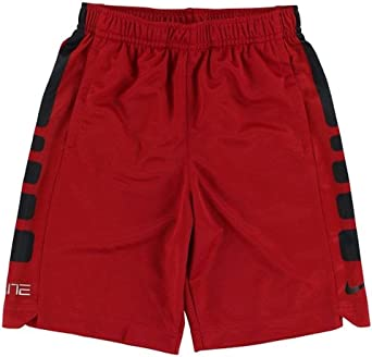 Amazon.com: Nike Boy s seco baloncesto corto, S, Negro ...