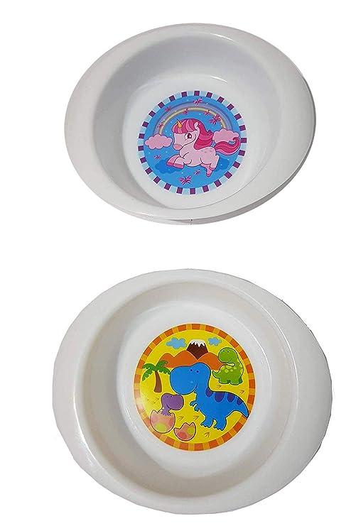 Golddunes - Juego de 2 cuencos de comida con diseño de dinosaurio ...
