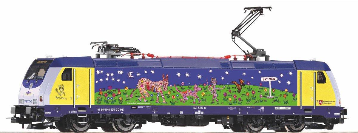 Piko H0 59556 Locomotive électrique BR 146 Rizzi, métronome, H0 Courant contin
