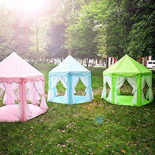 Baabyoo Children Play Tents Kids Tent 53u0027u0027x55u0027u0027 Prince and Princess Playhouse & Baabyoo Children Play Tents Kids Tent 53u0027u0027x55u0027u0027 Prince and ...