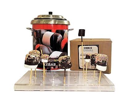 Kebab sistema de Choco - marshmallow - la captura de los ojos asequible único