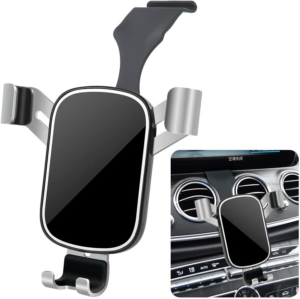 LUNQUIN E and S-Class Mercedes Benz phone mount