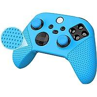 Capa de silicone para controle Xbox, série X/S, película de borracha para Xbox Series X/S controlador com alças de…