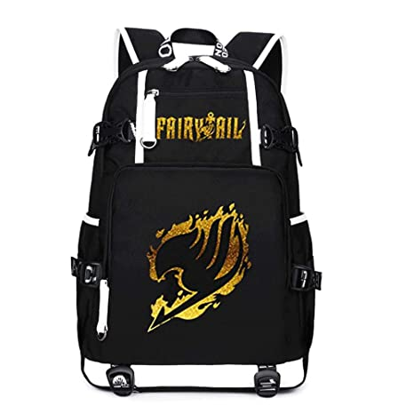f26c33988208 Amazon.com: Anime Fairy Tail Cosplay Daypack Bookbag Laptop Bag ...