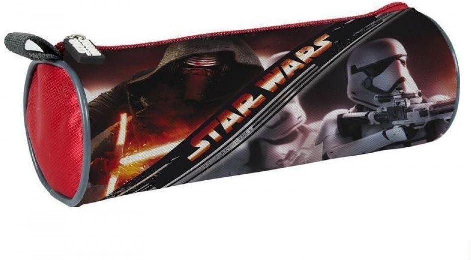 Estuche Star Wars VII El Despertar de la Fuerza, diseño Kylo Ren y Stormtrooper, cilíndrico: Amazon.es: Oficina y papelería
