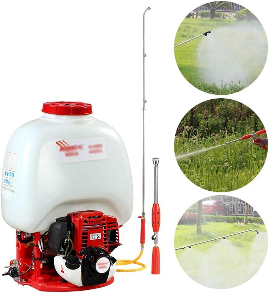ASDFGHT Pulverizador de Mochila de 25 litros Pulverizador de Motor de Gasolina de 4 Tiempos / 35cc / para Campos de Cultivo/Jardín/Huertos (Size : 25Litre)