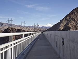 18 x 24 Ready to Hang Canvas Wrap of Pedestrian Walkway on The 2010 Mike O'Callaghan-Pat Tillman Memorial Bridge Past The Massive Hoover Dam Like The Dam The Bridge which primarily m07 2018 Highsmith
