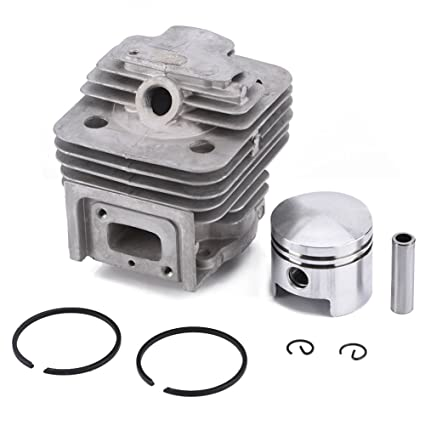 Amazon.com: GLOGLOW Cylinder Piston Kits Rings Gasket Pin Circlip Assy mower Accessories Fit MITSUBISHI TL52 BG520 Brush Cutter: Garden & Outdoor