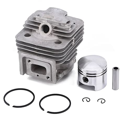 GLOGLOW Cylinder Piston Kits Rings Gasket Pin Circlip Assy mower Accessories Fit MITSUBISHI TL52 BG520 Brush Cutter