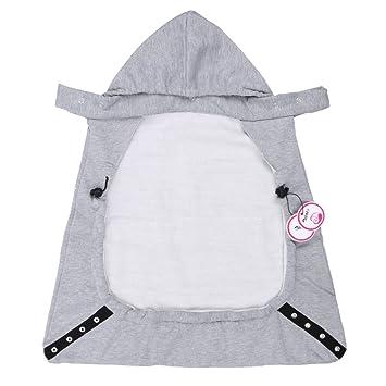 Zicac Manteau Capuchon Couverture De PorteBébé Souple Et Chaude - Porte bébé souple