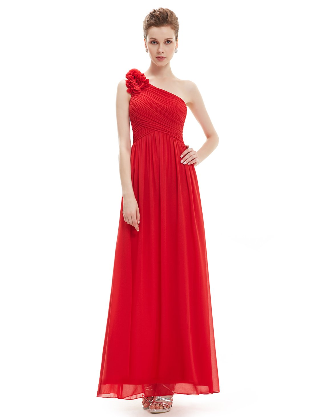 eb334c1d513 Ever-Pretty Womens Floor Length Elegant Mother of The Bride Groom Dress 10  US Vermillion