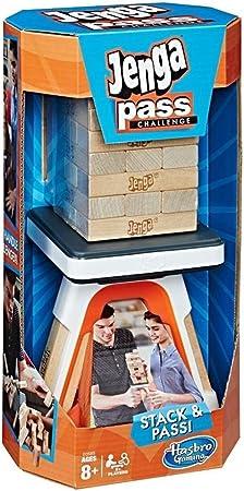 Hasbro Gaming E0585102 Jenga Pass Challenge: Amazon.es: Juguetes y juegos