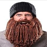 lustige m nner wikinger m tzen stricken h te beard ox horn. Black Bedroom Furniture Sets. Home Design Ideas