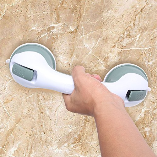 1 PC Bathroom Handrail Tub Super Grip Suction Handle Shower Safety Cup Bar Handrail for Elderly Safety Helping Handle by Elderly Accessories M and F (Image #1)
