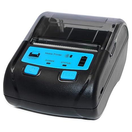 Impresora térmica de 58 mm, Etiquetas Autoadhesivas Soporte ...