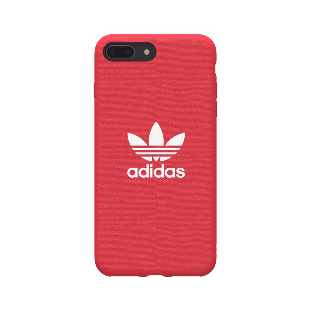 finest selection 424e4 0eed5 Galleon - Adidas Originals Adicolor Moulded Case Cover For Apple IPhone 8  Plus 7 Plus 6S Plus 6 Plus (Radiant Red)