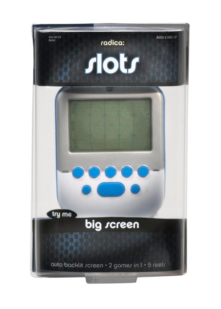 Radica Big Screen Slots - White