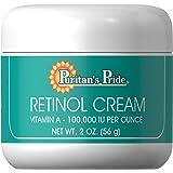 Puritan's Pride 2 Pack of Retinol Cream (Vitamin A 100,000 IU Per Ounce) Puritan's Pride Retinol Cream (Vitamin A 100,000 IU Per Ounce)-2 Cream